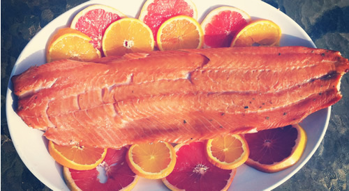 smoked salmon recipe