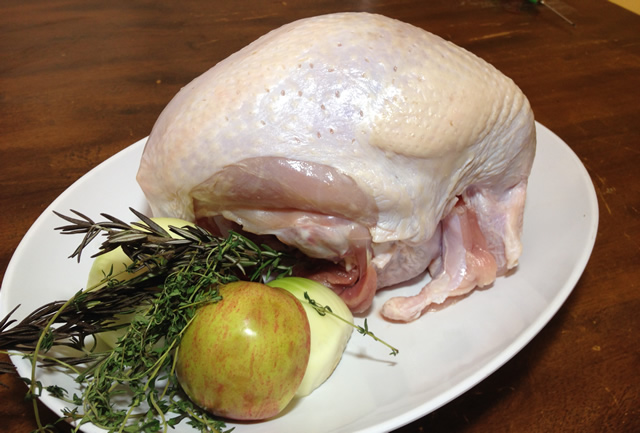 Turkey with Stuffing Options