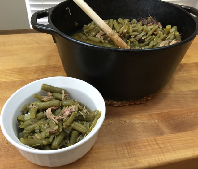 Smoked Green Beans