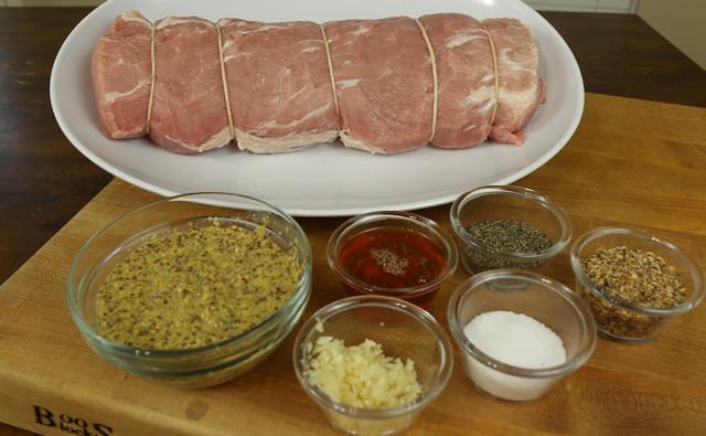Rotisserie Pork Loin