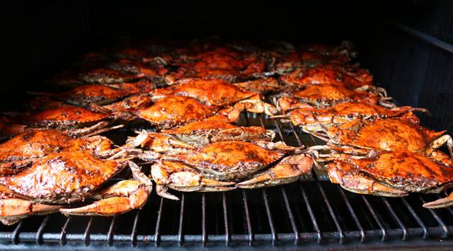 Smoked Blue Crab