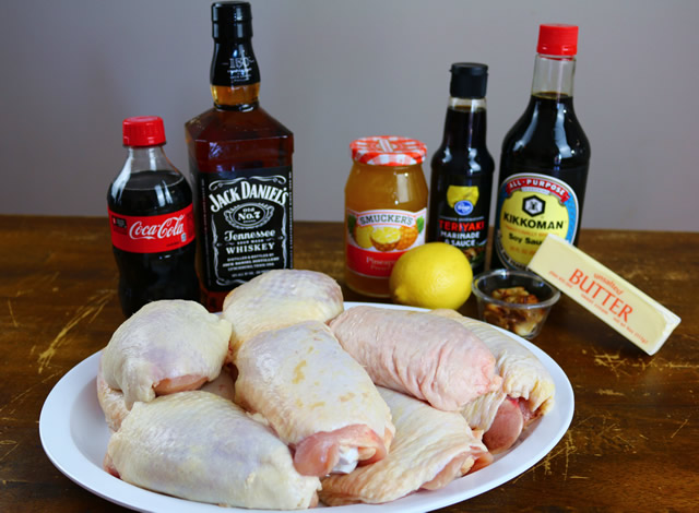 Jack & Coke Chicken Thighs