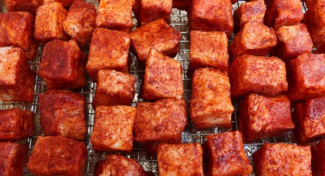 Pork Bell Burnt Ends
