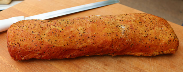 Smoked Lemon Pepper Pork Loin