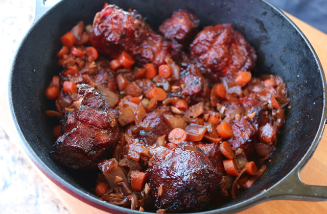 Smoked Oxtails