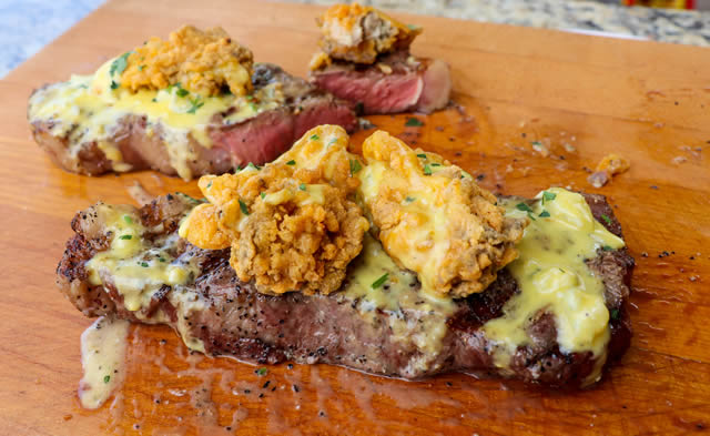 NY Strip Surf and Turf