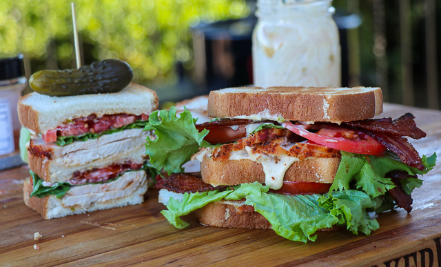 Cajun Turkey Club