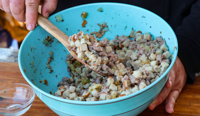 Stuffing for Smoked Turkey Recipe