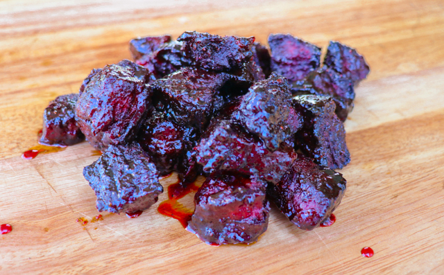 chuck roast burnt ends