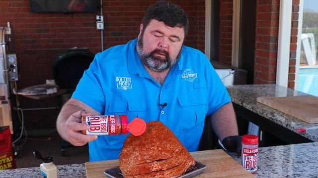 BBQ Smoked Ham